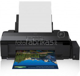 Epson L1800 ITS A3+ Colour Inkjet Photo Printer / 5760x1440dpi / Print: up to A3+ / Connectivity: USB