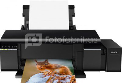 Epson L805 Inkjet Photo printer / 6 Ink Cartridges / 37ppm mono/ 38ppm color / USB / Wifi / Paper tray 120 Sheets / Prints on CD / DVD