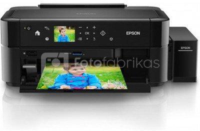 Epson L810 Inkjet Photo printer / 6 Ink Cartridges / 37ppm mono/ 38ppm color / USB / Paper tray 120 Sheets / Prints on CD / DVD