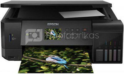Epson Multifunctional printer EcoTank L7160 Colour, Inkjet, Cartridge-free printing, A4, Wi-Fi, Black