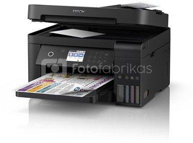 Epson Multifunctional printer L6170 Colour, Inkjet, Cartridge-free printing, A4, Wi-Fi, Black