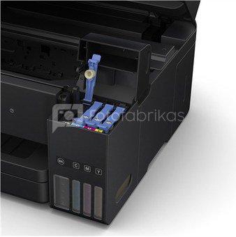 Epson Multifunctional printer L6190 Colour, Inkjet, Cartridge-free printing, A4, Wi-Fi, Black