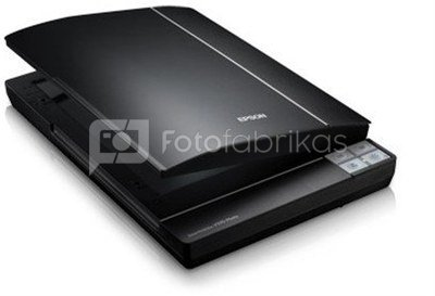 Epson Perfection V370 Flatbed color scanner / 4800 dpi / Color Scan Mode: 48-bit / Grayscale Scan Mode: 16-bit / Hi-Speed USB