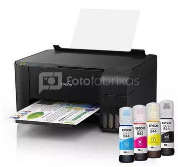 Epson Printer EcoTank L1110 Colour, Micro Piezo technology, All-in-One, A4, Grey/Black