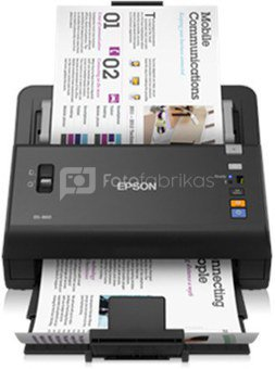 Epson WorkForce DS-860 A4 sheet-fed scanner / A4 / ADF 80 Sheets/ 600x600dpi / USB2.0
