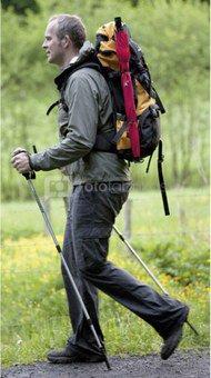 Euroschirm Swing handsfree Trekking Umbrella black