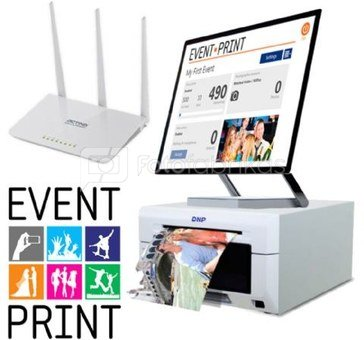 Event Print - BOX with Router and Dongle Key