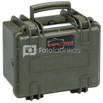 Explorer Cases 2214 Green Foam 246x215x162