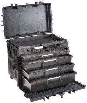 Explorer Cases 5140 Trolley Zwart Foam 581x381x455