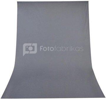 Fabric Background Visico 3 x 6 m Grey