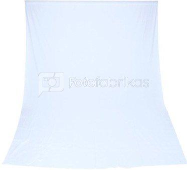 Fabric Background Visico 3 x 6 m White