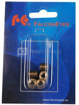 "Falcon Eyes Adapter SP-S4F8M-5 from 1/4"" to 3/8"" Thread 5 Pcs."