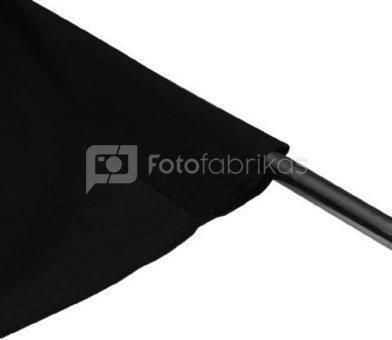 Falcon Eyes Background Cloth BCP-02 2,9x5 m Black Washable