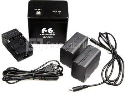 Falcon Eyes Battery Pack MV-AD2 for DVR-620D/LP-DB1000U/SG-100