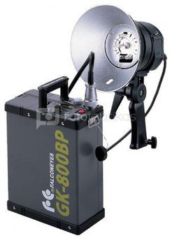 Falcon Eyes Flash 800 Ws TE-800FH + Battery GK-800BP + Bag