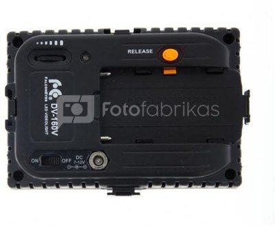 Falcon Eyes LED Lamp Set Dimmable DV-160V-K2 incl. Battery