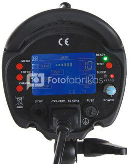 Falcon Eyes Studio Flash Set TFK-3600L with LCD Display