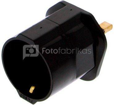 Falcon Eyes Travel Plug Adapter for UK