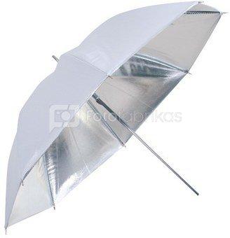 Falcon Eyes Umbrella UR-32S Silver/White 80 cm