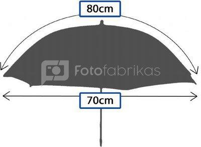 Falcon Eyes Umbrella UR-32T Translucent White 80 cm