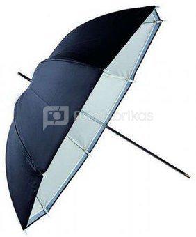 Falcon Eyes Umbrella URN-48TSB1 Transparent White + Silver/Black Cover 122 cm