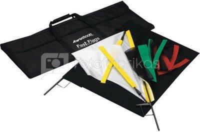 """Westcott Fast Flags 24"""" x 36"""" Fast Flag Kit"""