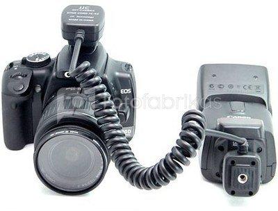 JJC FC E3 (0.9M)   Off Camera Shoe Cord (Canon OC E3)