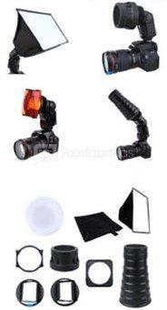 JJC FK 9 Portrait Kit for Shoe Mounted Flashes