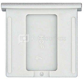 Caruba Flitsschoenkapje Fuji Type 1 Zilver