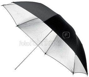 Fomei sidabrinės spalvos skėtis 105 cm