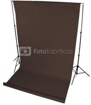 Fonas Polypropylene background 1,6x5m Brown