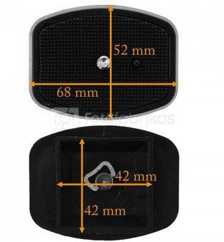 Formax universali trikojo galvos plokštelė 42x42