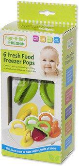 Formelės produktų šaldymui 6 vnt Čiulptukai kūdikiui FS518