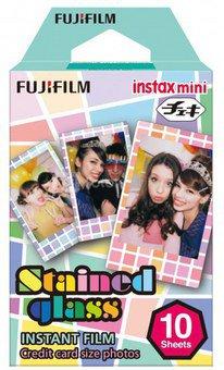 Fujifilm Fotoplokštelės Instax MINI Stained Glass 10vnt.