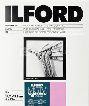 1x 25 Ilford MG IV RC 1M 13x18