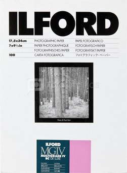 1x100 Ilford MG IV RC 1M 18x24