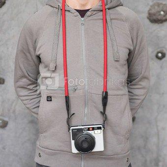 Fotoaparato dirželis-virvė Cooph Leica SO (raudona)
