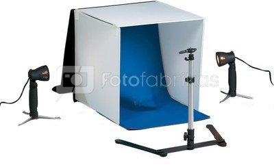 Fotografavimo palapinė 60 cm su šviestuvais Visico LT-018 Mini Studio kit