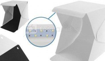 Fotografavimo palapinė su LED 22 x 23 x 25 cm