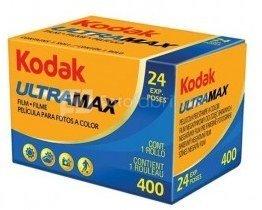 Fotojuosta Kodak Ultramax 400 135/24 (1vnt)