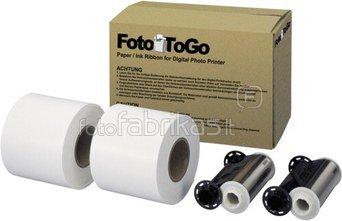 FotoToGo Printer Paper 10x15 cm FTG21-PC n.M. 1400 Pr. Sinfonia