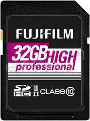 Fujifilm 32GB SDHC Card UHS-II High Professional Class 10
