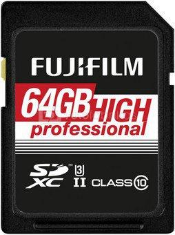 Fujifilm 64GB SDXC Card UHS-II High Professional Class 10