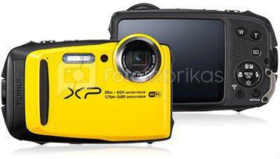 Fujifilm FinePix XP120 (geltonas)