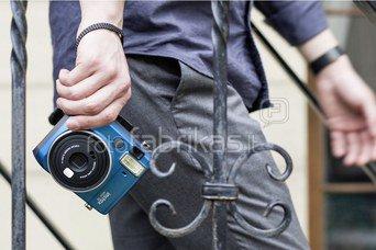 Fujifilm Instax Mini 70 mėlynas + Krepšiukas