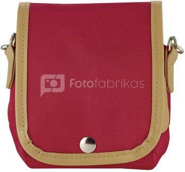 Fujifilm Instax Mini 8 Case raspberry + Strap