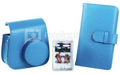 Fujifilm Instax Mini 9 accessory kit, cobalt blue