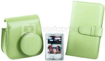 Fujifilm Instax Mini 9 accessory kit, lime green
