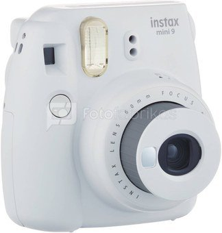 Fujifilm Instax Mini 9 (Baltas) + 10 Fotoplokštelių