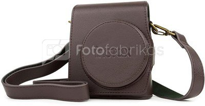 Fujifilm Instax Mini 90 bag + strap, brown